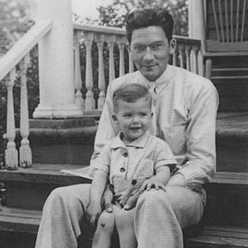 Francis Heyrman with son Bob