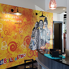 Full-Length, Full-Color Murals