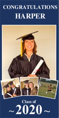 Graduation Vertical Banner